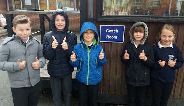 'Cwtch Room' introduced to school