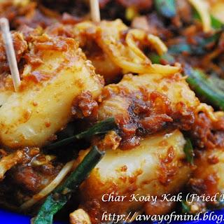 Char Koay Kak (Fried Radish Cake) 怀旧炒罗卜糕.