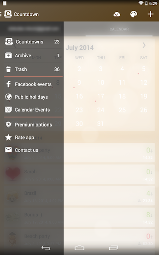 Countdown Widget screenshot 13