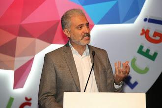 Photo: Unilever Türkiye Satış ve Müşteri Geliştirmeden Sorumlu Başkan Yardımcısı Cem Tarık Yüksel konuşmasını yaparken... www.gelecekgunu.org