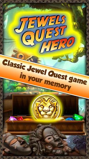 Jewels Quest Hero - Gem Match