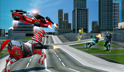 Download free US Police Multi Robot Transform: Wild Horse Games for PC on Windows and Mac apk screenshot 14