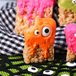 Your Kids Will Go Crazy for These Rice Krispie Treat Monsters