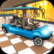 Shopping Mall Family Taxi: Rush Taxi Simulator car