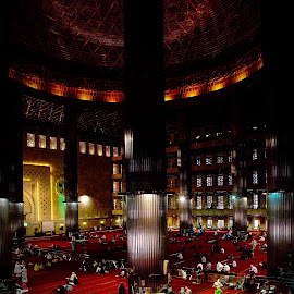 Istiqal jakarta worship interior by Ronz'da Dezign - Buildings & Architecture Other Interior