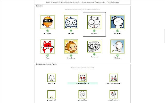 Custom Hangout Emoticons Chrome Web Store