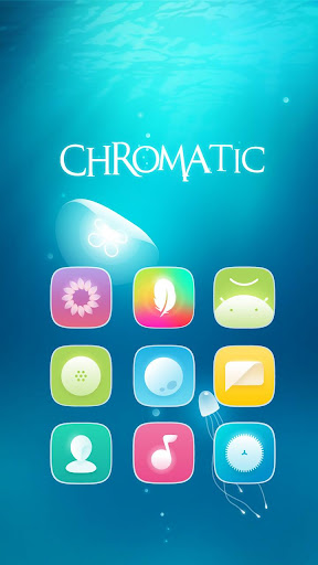 Chromatic Hola Launcher テーマ