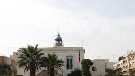El faro de Garrucha y el solar anexo donde se encuadra desde 1881.