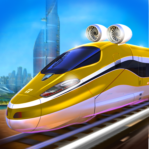 Future train driving game (apk) free download for Android/PC/Windows