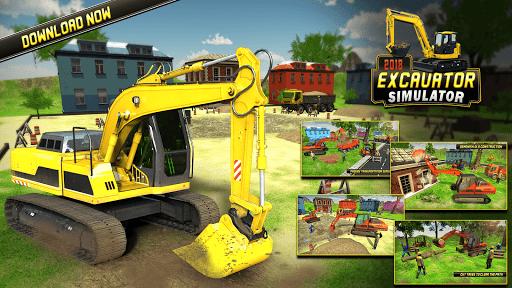 Heavy Excavator Simulator 2018 - Dump Truck Games screenshots 5
