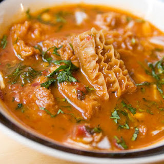 Menudo Rojo, or Red-Chile Tripe Soup Recipe
