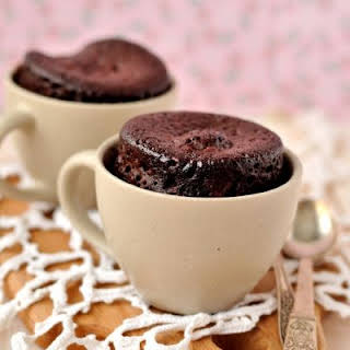 Chocolate Microwave Mug Brownie.
