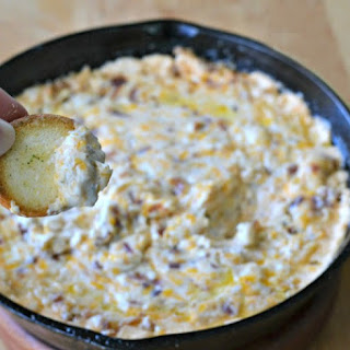 Cheesy Chicken and Bacon Ranch Dip.
