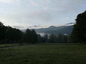 Photo: jeszcze chwilę temu nad Tatrami wisiała ogromna czapa ciemnych sinych chmur...