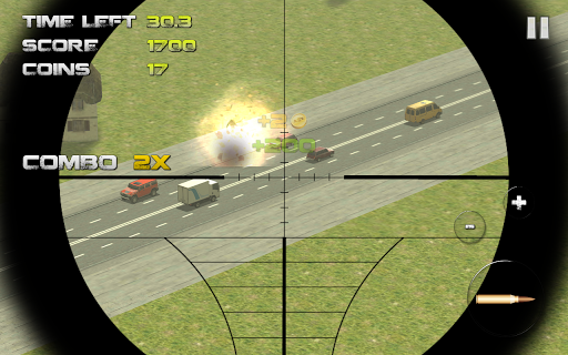 Sniper: Traffic Hunter screenshot 2