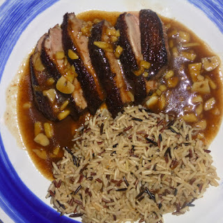 Five Spice Duck Breast with a Tamarind Sauce
