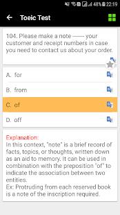 Toeic Test, Toeic Reading, Toeic Explanation - náhled