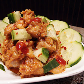 Thai Style Low Carb Peanut Chicken