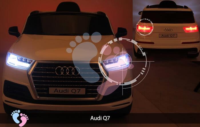 Oto điện Audi Q7 dành cho bé yêu 9