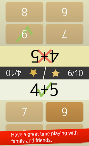 Mental arithmetic (Math, Brain Training Apps) 1.5.4 screenshots 4