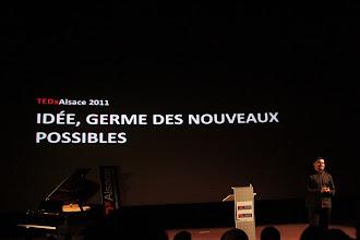 Photo: TedxAlsace - Salah-Eddine Benzakour Organisteur du TedxAlsace et de la Terre des Nouveaux Possibles