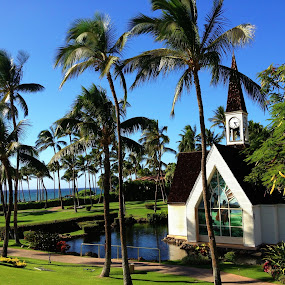 Chapel at the Grand Wailea by Lori Nordlund - Instagram & Mobile iPhone