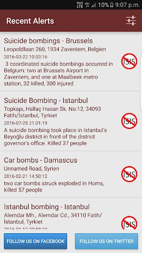 ISIS Alarm