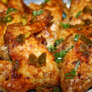 Oven Baked Louisiana Hot Wings