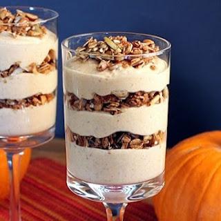 Maple Pumpkin Pie Yogurt Breakfast Parfait