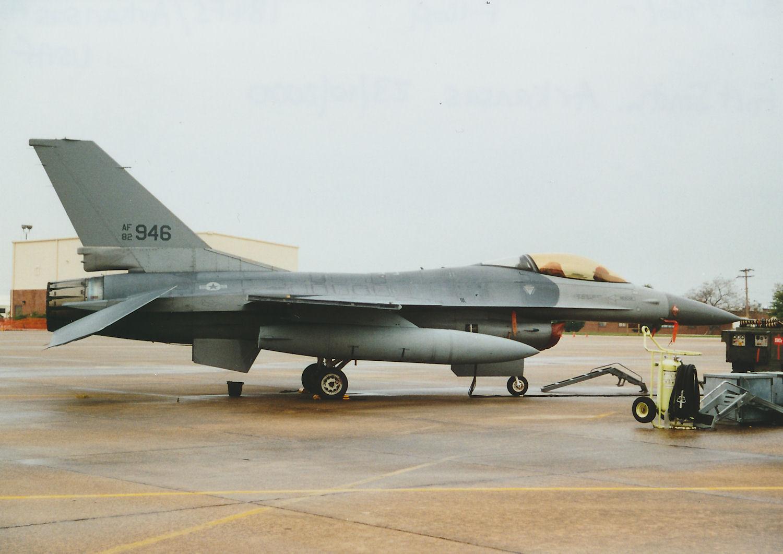 Photo: 82-0946/- F-16A  184FS/Arkansas ANG Fort Smith Municpal Airport/Ebbing ANGB Base Visit 23rd October 2000