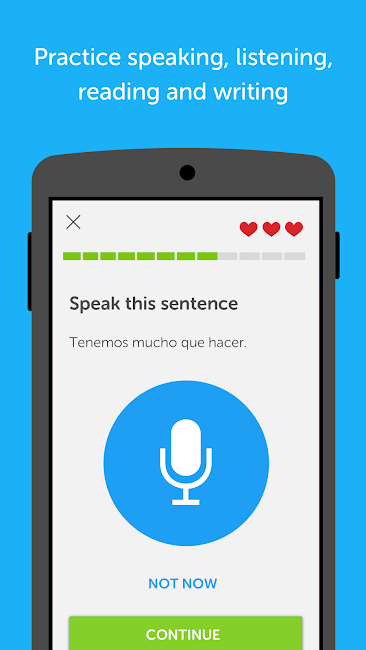 #3. Duolingo: Learn Languages Free (Android)