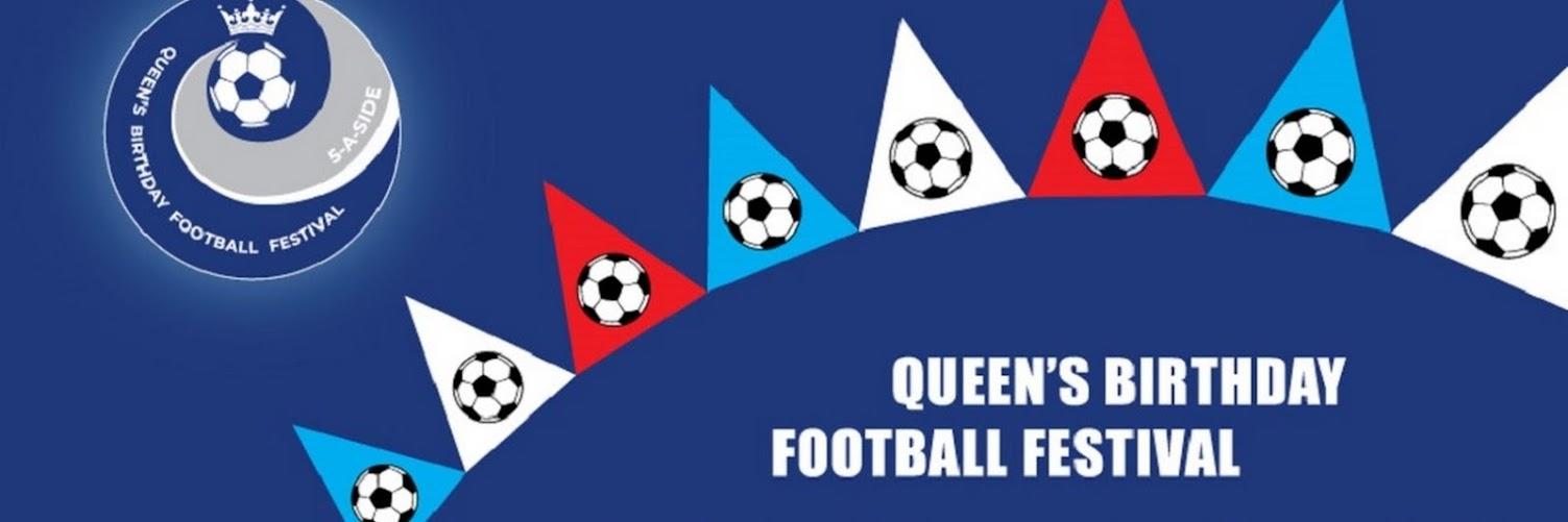 Queens Birthday Football Festival: 5-A-side Cup U9, U10, U11, U12 boys and U10, U12 girls