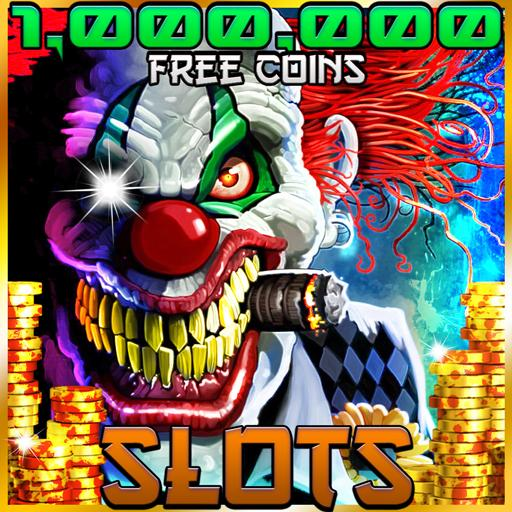 Vegas Clown Jackpot - Halloween Slot Machine