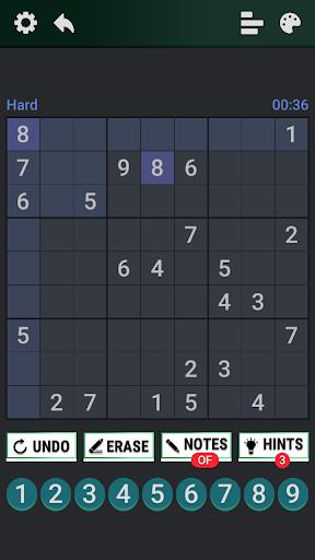 Classic Sudoku : Free Logic Number Puzzle Game apkdebit screenshots 7