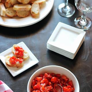 Tomato Bruschetta with Herbes de Provence