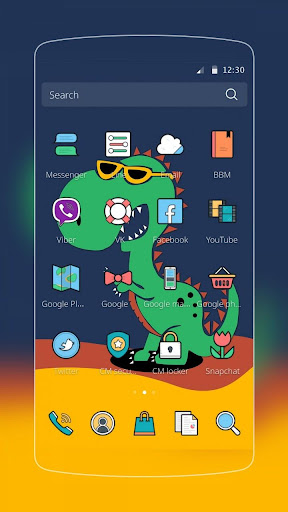 玩免費漫畫APP|下載Green Dinosaur Baby app不用錢|硬是要APP