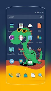 Green Dinosaur Baby screenshot 1