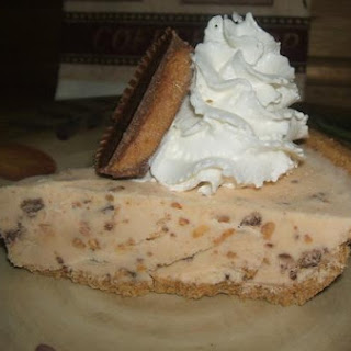 Reese Cup Ice Cream Pie