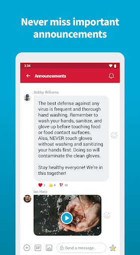 Crew - Free Messaging and Scheduling screenshot 6