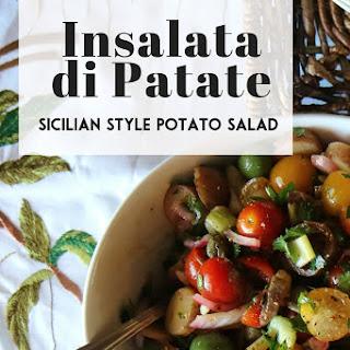 Sicilian Style Potato Salad