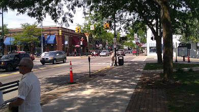 Photo: Looking south on Bridge Streetl, Charlevoix.