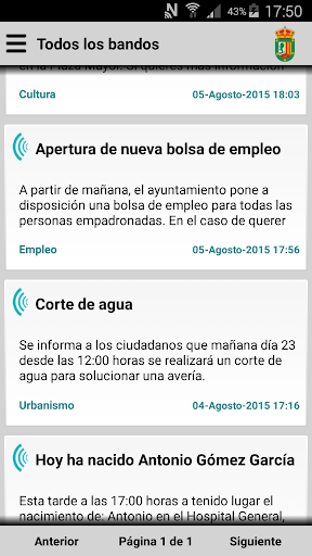 La Codosera Informa