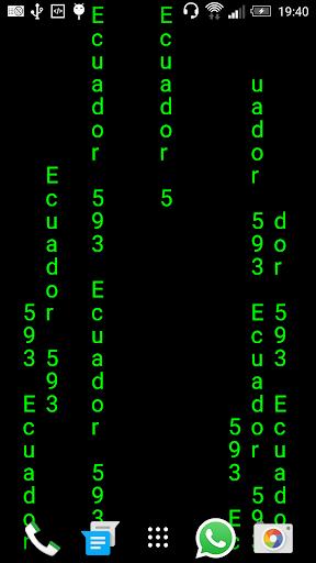 Matrix Ecuador 593