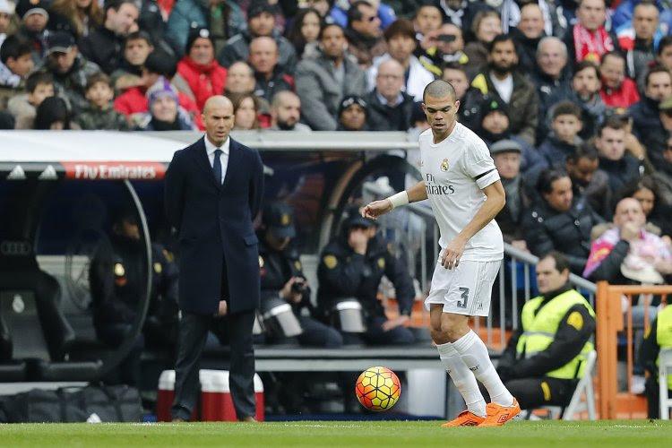 """Pepe en veut à Zidane : """"Nous ne nous sommes pas dit au revoir"""""""
