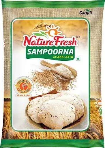 Natural Fresh Nature Fresh Sampoorna Atta - 10 kg image