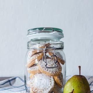 Pear Shortbread Cookies