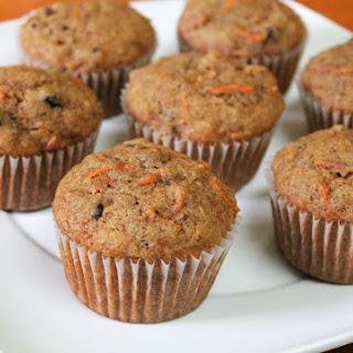 Carrot Walnut Muffins.