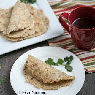 Almond Flour Low Carb Tortillas - Egg Free Keto Wraps.