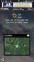 Screenshot of First Alert Weather