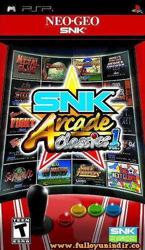 SNK Arcade Classics: Volume 1 PSP